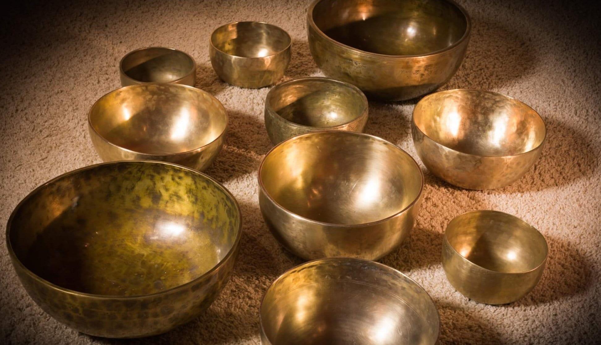 Hangfürdő tibeti hangtálakkal