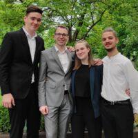 A Debrecen Saxophone Quartet koncertje I Klassz.lépcső